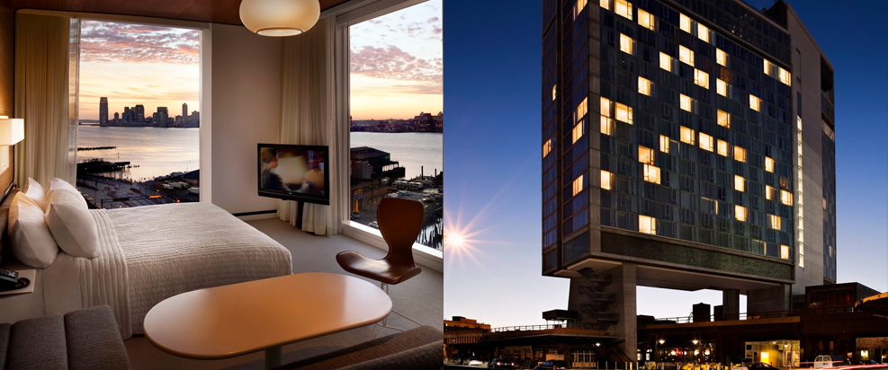 THE STANDARD HIGH LINE,  NYC Hotels,  Best NYC Luxury Hotel Bookings, NYC Hotel Reservations