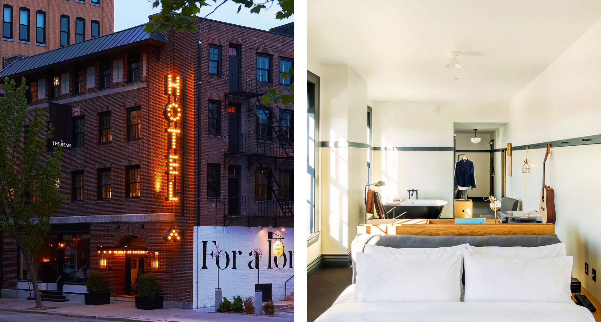 The Dean - budget boutique hotel in Providence and ace Pittsburgh - boutique hotel in Pittsburgh