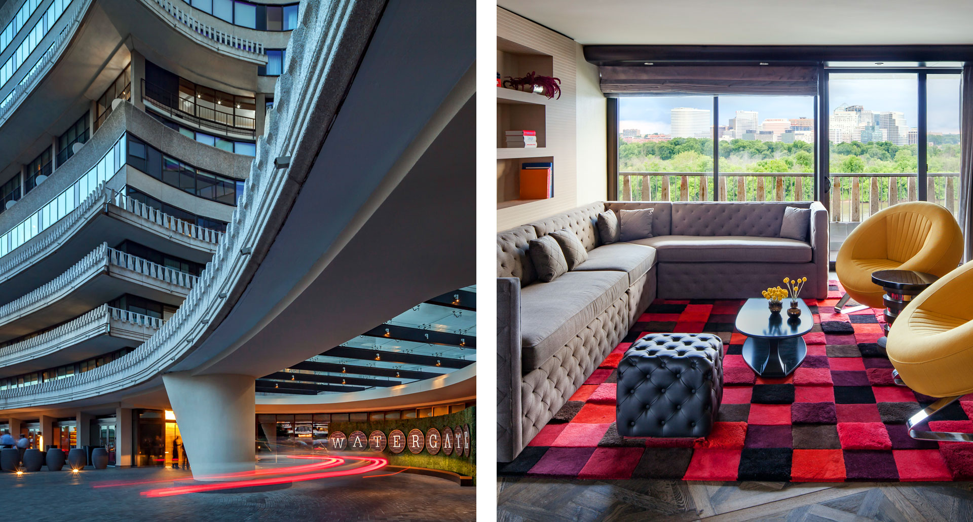 The Watergate Hotel - luxury boutique hotel in Washington DC