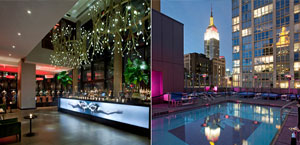 Gansevoort Park Hotel - New York  - Boutique Hotel New York City. Midtown, NYC.