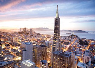 San Francisco - Best Boutique Hotels in SF. San Francisco, California.