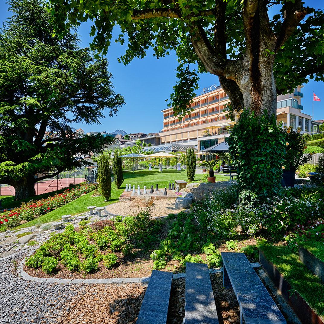 Hotel Eden Spiez Swiss Quality
