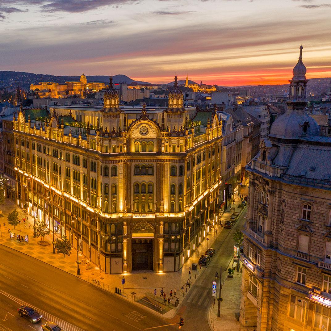 Párisi Udvar Hotel Budapest