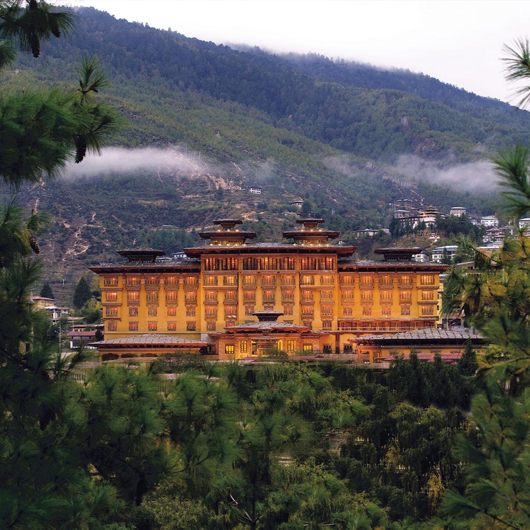 不丹泰姬扎西大酒店(Taj Tashi Thimpu)